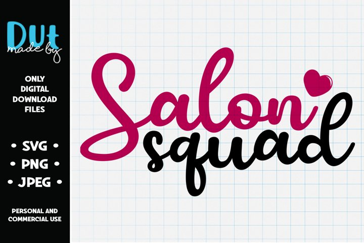 Salon Squad SVG