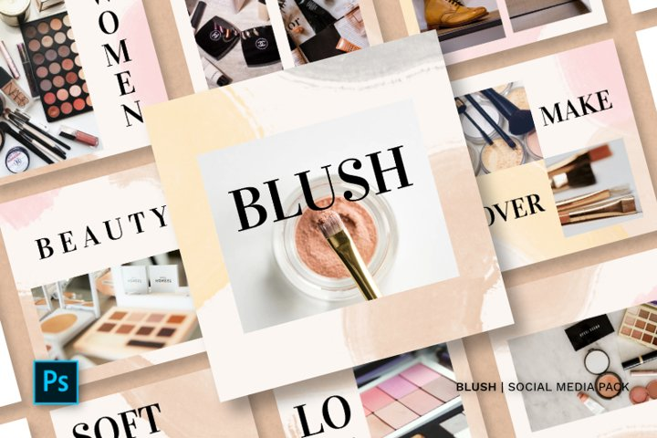 Blush Social Media Pack