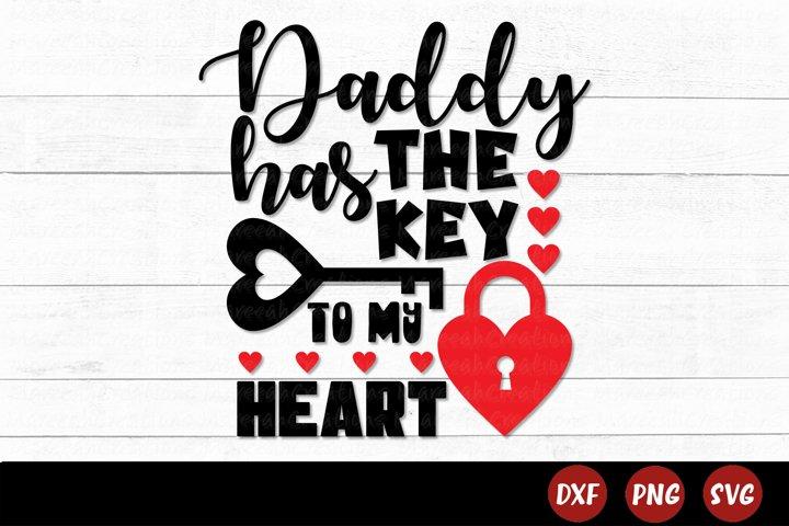 Daddy Valentine SVG   Valentines Day SVG