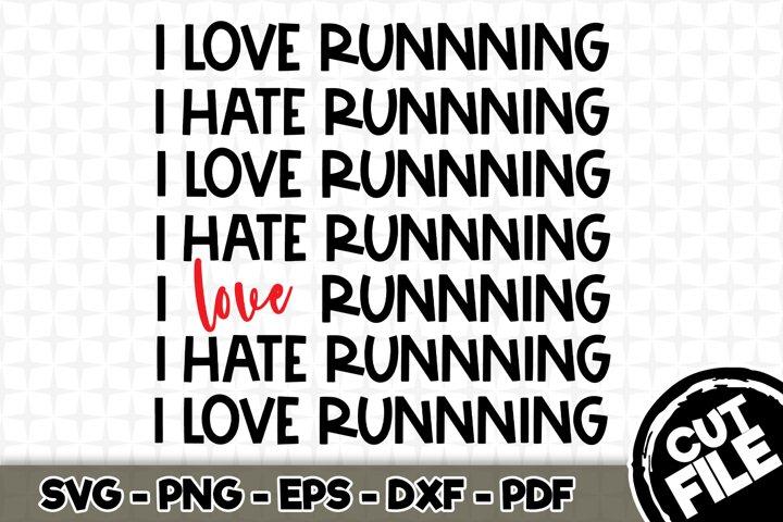 Download I Love Running Svg Cut File N033 477673 Svgs Design Bundles