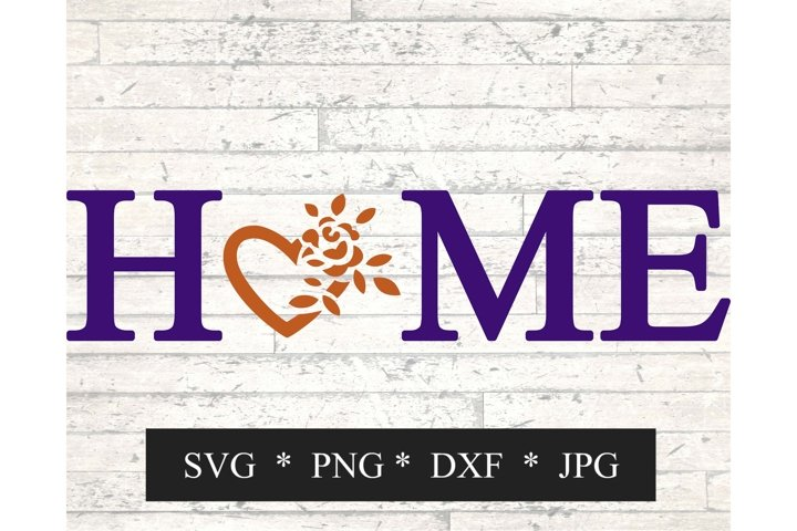 Home with Heart SVG