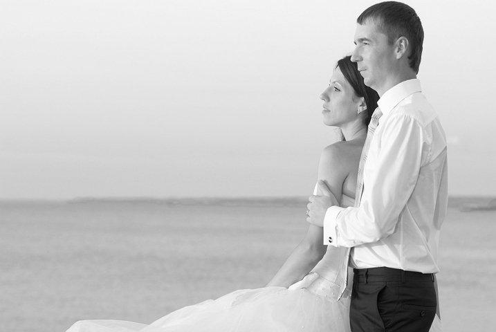 Beautiful wedding couple- bride and groom
