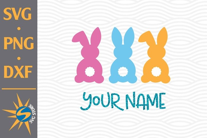 Easter SVG, PNG, DXF Digital Files Include
