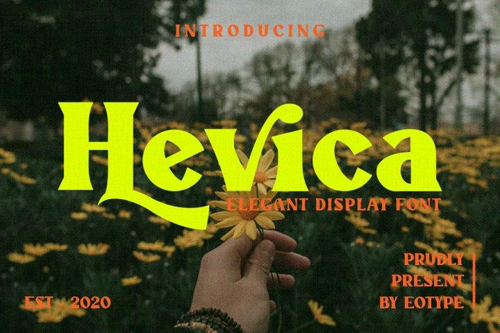 Hevica Multi Purpose Font