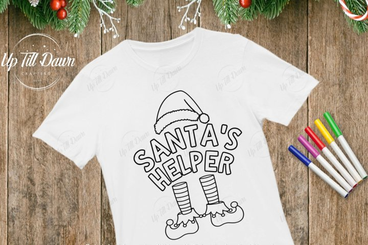 Santas Helper SVG