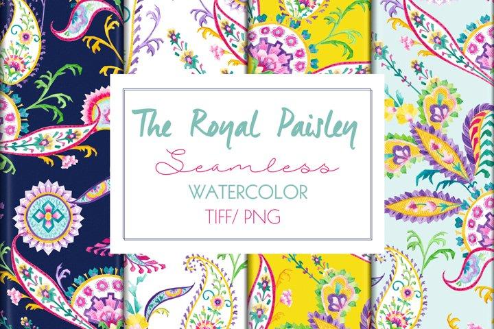 Royal Paisley