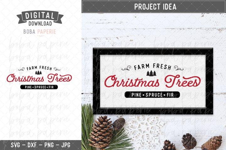 Farm Fresh Christmas Tree SVG