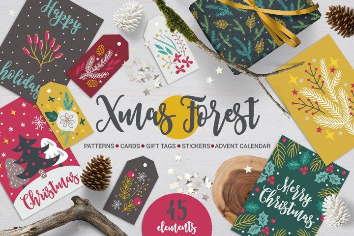 Xmas Forest Kit