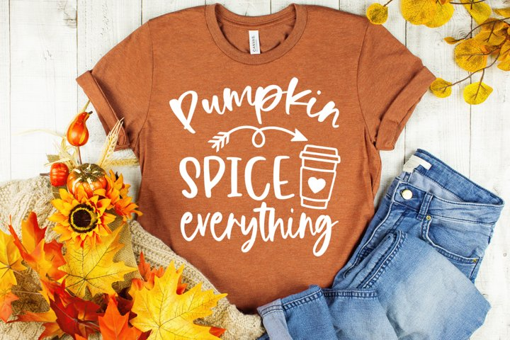 Pumpkin Spice and Everything Nice Fall SVG