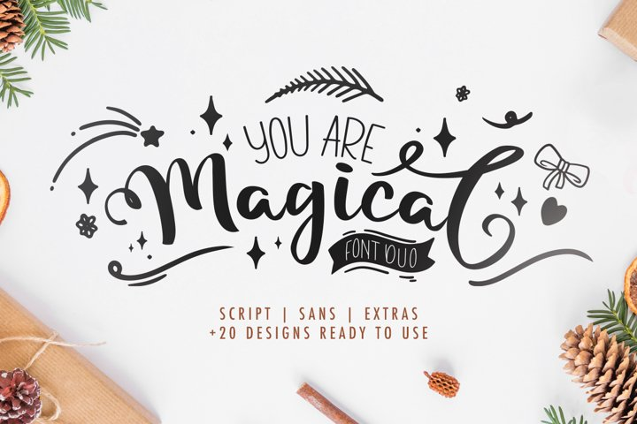 Magical - Font Duo