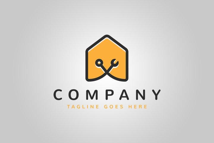 House Repair Logo Template