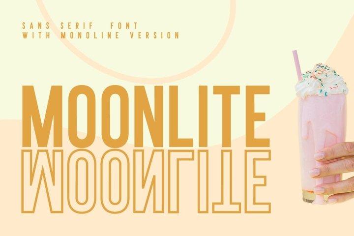 Moonlite-Solid&Outline Serif Font