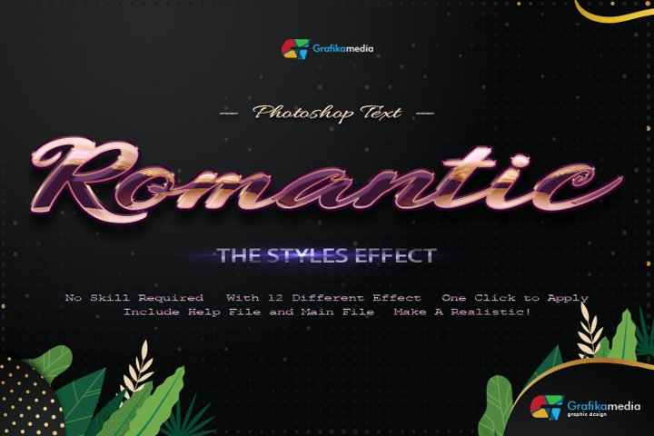 12 Romantic Styles Photoshop