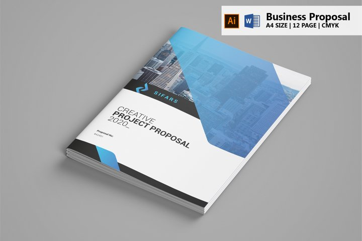 Business Proposal - Illustrator & MS Word Template