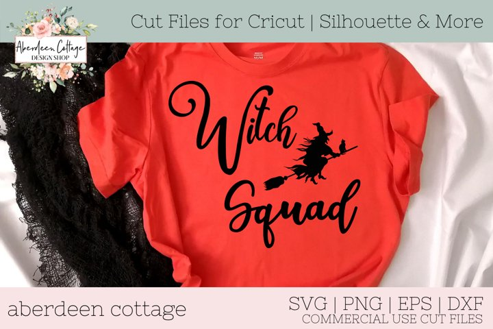 Witch Squad SVG