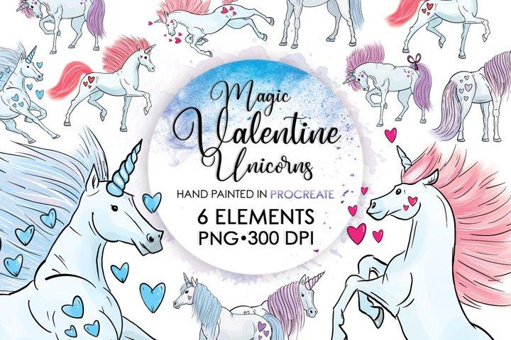 Valentine Clipart, Unicorn Png, Unicorn Clipart, Sublimation