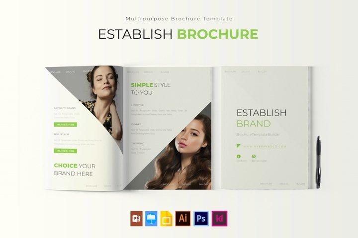 Establish Brand | Brochure Template