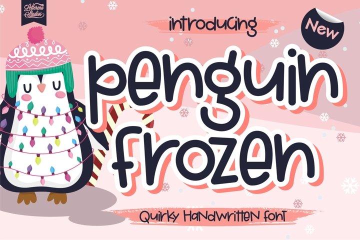 Penguin Frozen - Quirky Handwritten Font
