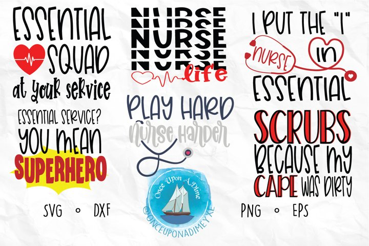 Nurse Bundle | Nurse | Healthcare SVG Cut File