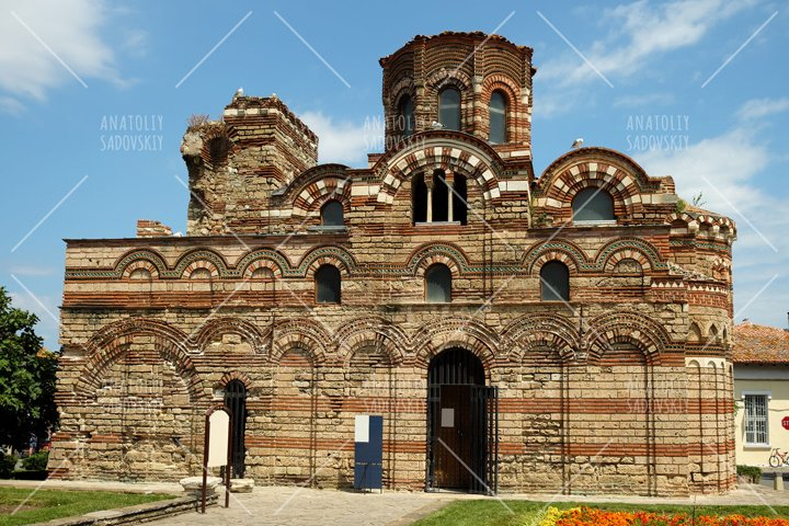 Church of Christ Pantocrator in old town of Nessebar