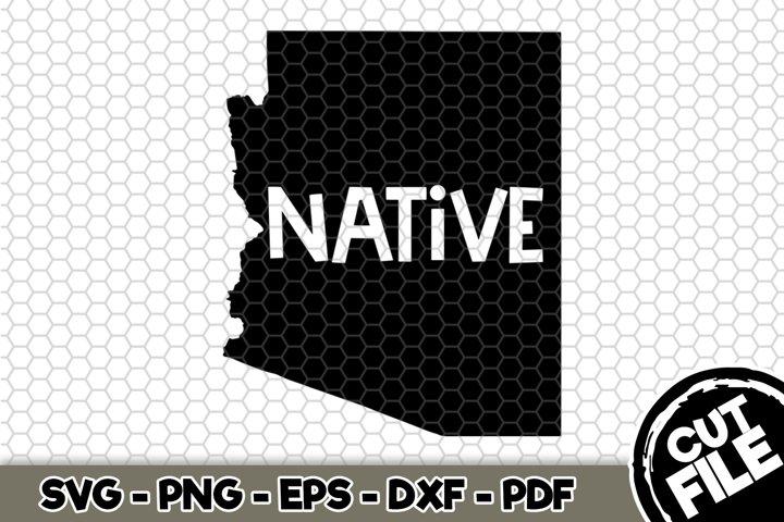 Arizona Native - Arizona State - SVG Cut File n341