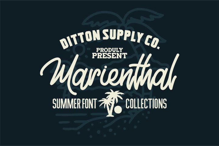 Marienthal Font Bundle Extras!