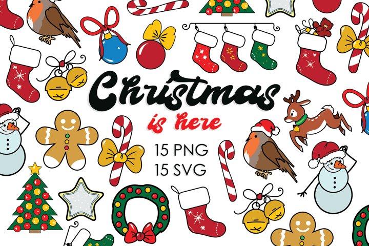 Christmas Bundle, Christmas Ornament, Christmas Svg Bundle