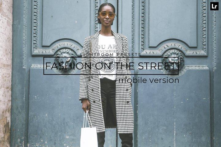 20 Fashion On the Street LR Presets