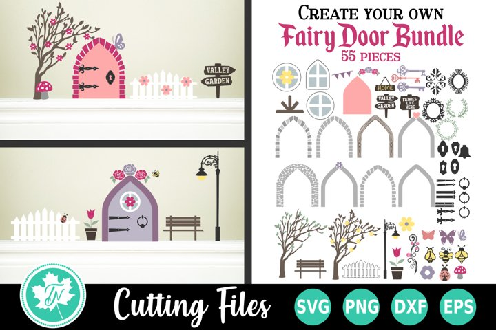 Create Your Own Fairy House SVG Cut File Bundle