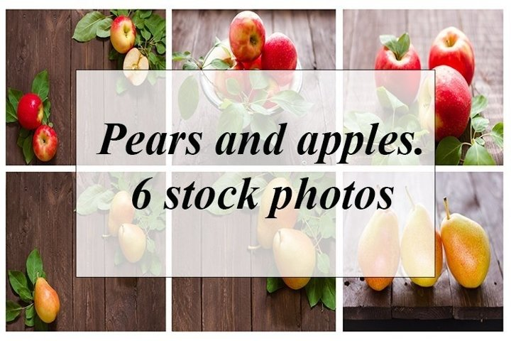 Pears and apples.