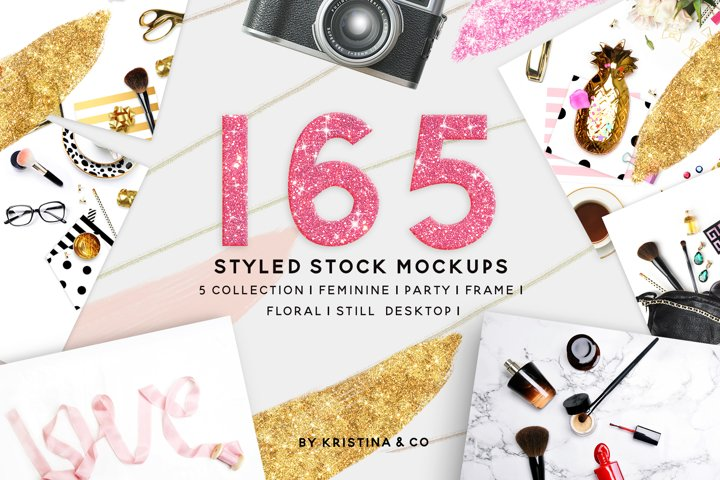 165 Styled Stock Mockups