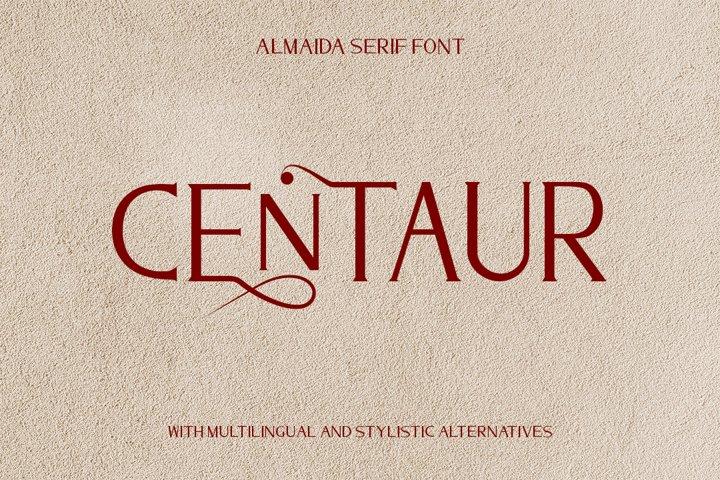 Almaida - Modern Serif Font
