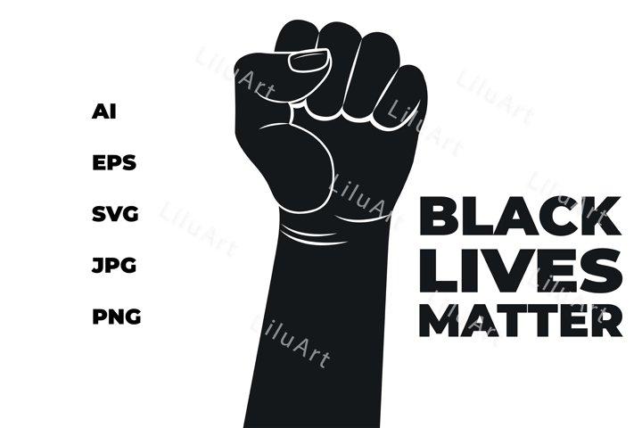Black Lives Matter Design.