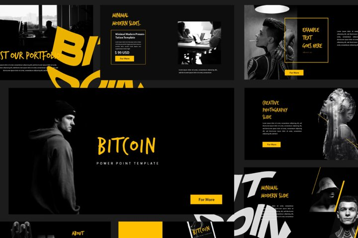 Bitcoin Business Powerpoint Template