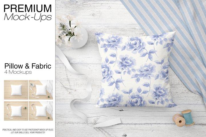 Pillow & Fabric Set