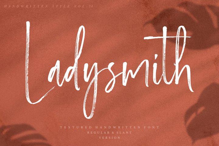 Ladysmith - Handwritten Font