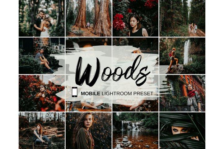 Woods Lightroom Presets Mobile & Desktop