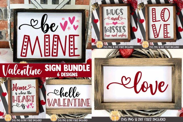 Valentine SVG | Valentines Day Sign SVG Bundle