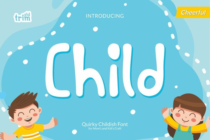 Child - Quirky Childish Font