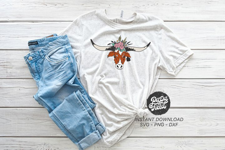 Cow|PNG|Sublimation