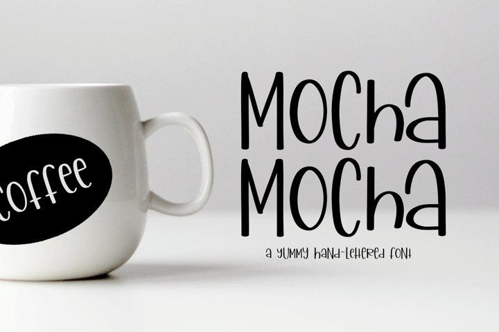 Mocha Mocha - A Yummy Hand-Written Font