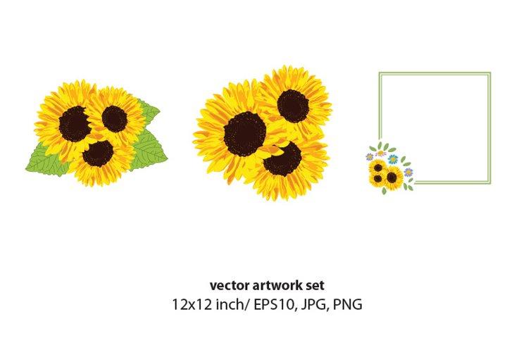 Floral, VECTOR ARTWORK SET