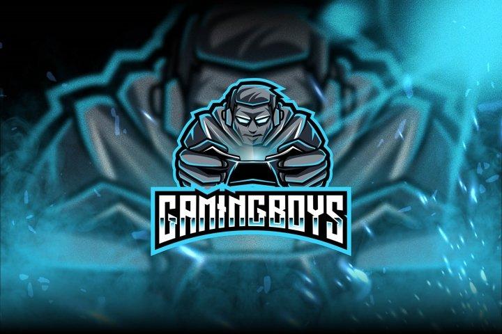 Gaming Boys Esport Logo Template