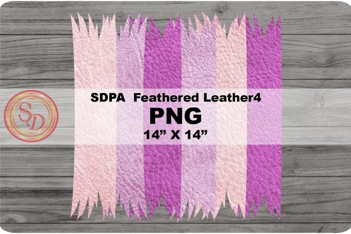 Sublimation Designs - background Feathered Leather4