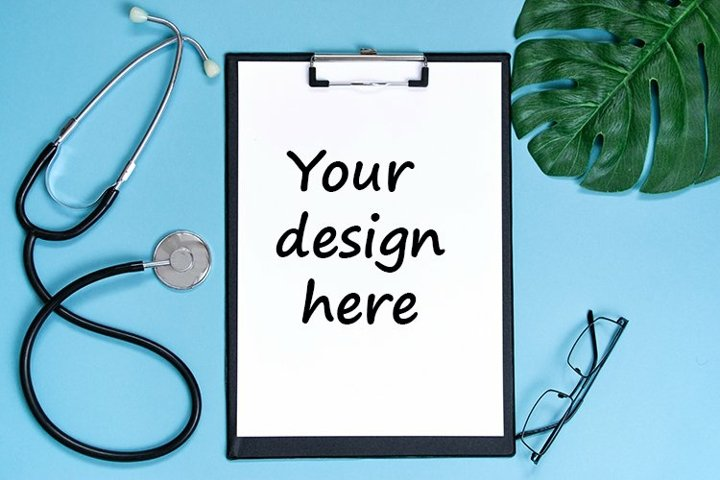 Medical flat lay. Health care and medical concept.