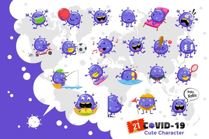 Cute Covid-19 Bundle