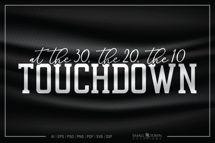 Football, Touchdown, Game, Football team svg, CUT & DESIGN