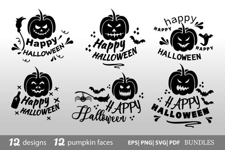 Halloween Bundle SVG bundle 24 designs SVG