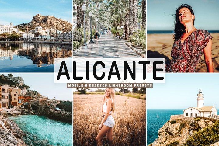 Alicante Mobile & Desktop Lightroom Presets