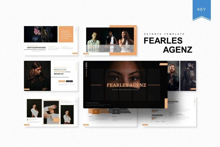 Fearles Agenz | Keynote Template